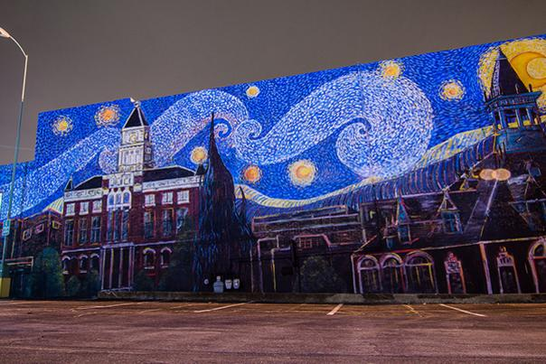 Murals, Sculptures, Fountains and Flames Fill Clarksville's Public Art Trail