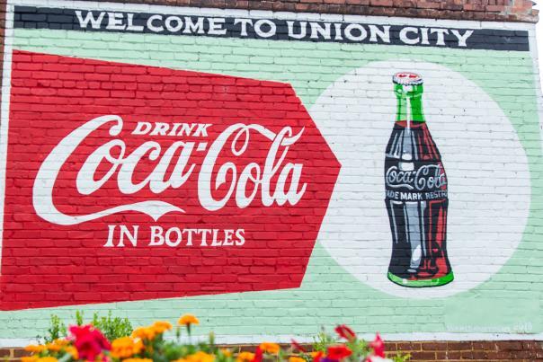 Union City_CocaCola Mural