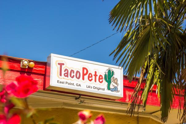 Taco Pete Exterior