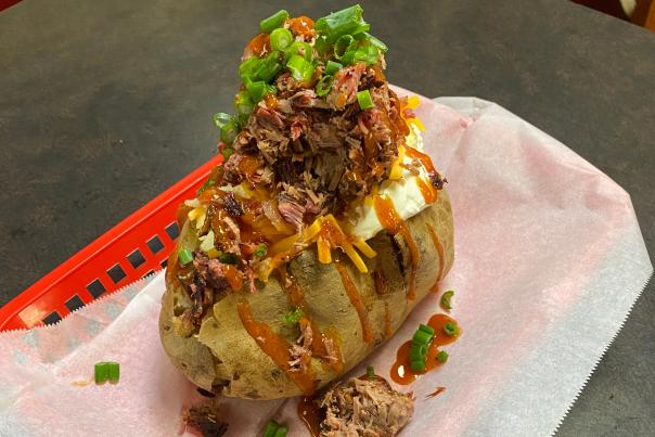 Pit Boss Loaded baked Potato