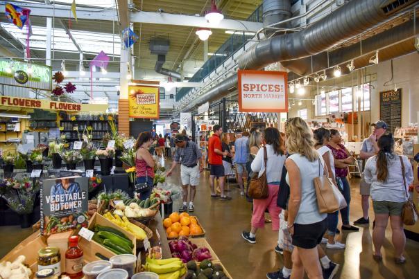 North Market view