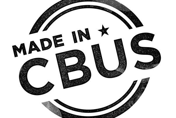 Made in Cbus Logo - Black