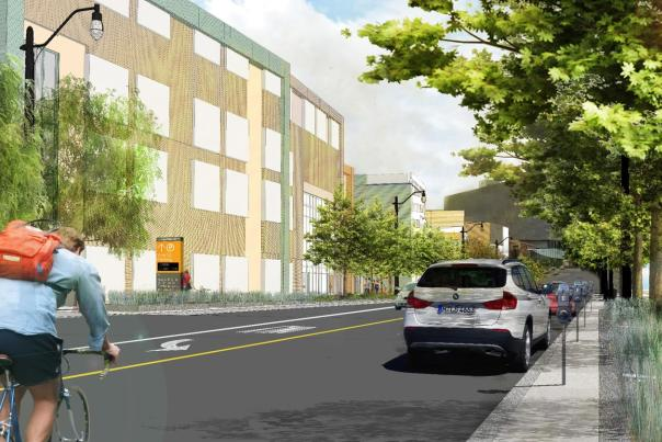 GCCC Streetscape Rendering