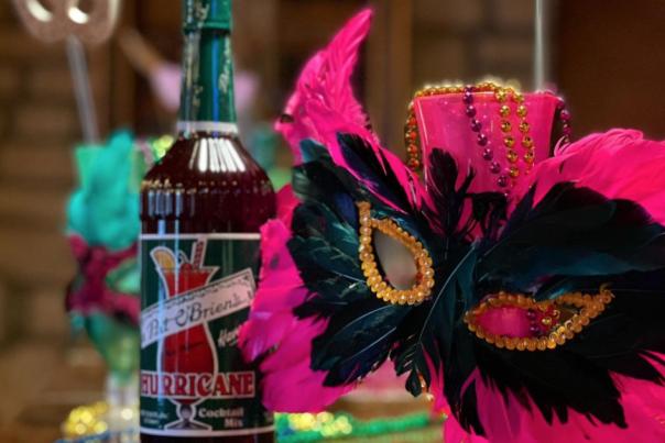 Mardi Gras Decor from La Chatelaine