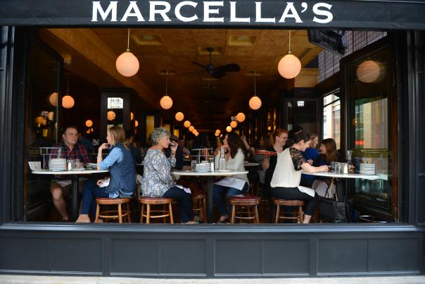 Marcella's street view