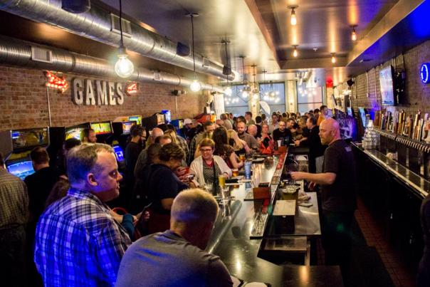brewcadia brew pub and game bar