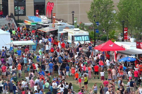 Food Truck Festival (old location)