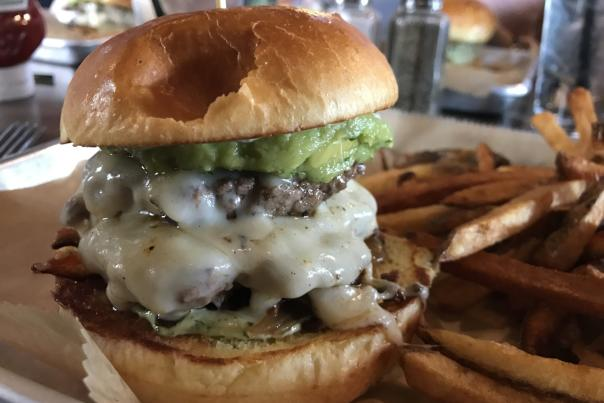 Hamburger from Gay St. District