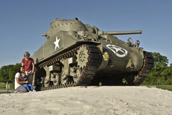 USAHEC Tank