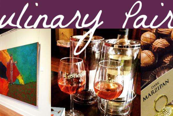 Art Wine Chocolate Culinary Pairing