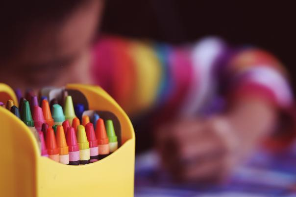 Crayons from Unsplash
