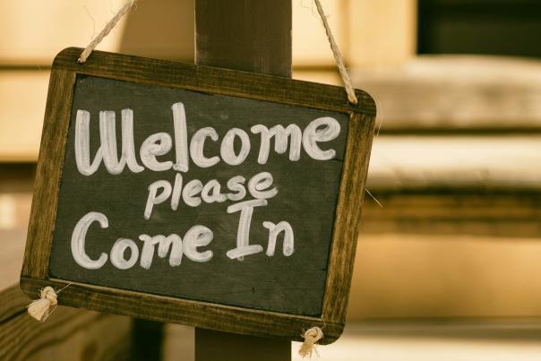 Welcome Sign Unsplash
