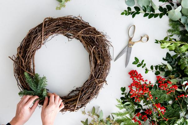 Holiday Wreath Generic
