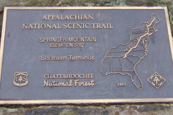A 2,189-Mile Footpath Starts with a Single Step -- Near Dahlonega