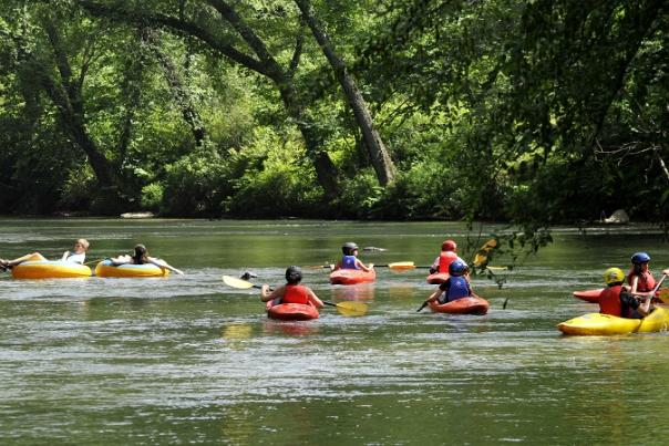 Get Out and Relax, Take a Trip on One of Lumpkin County's Rivers