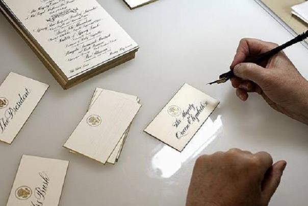 Chief White House Calligrapher Coming to Dahlonega