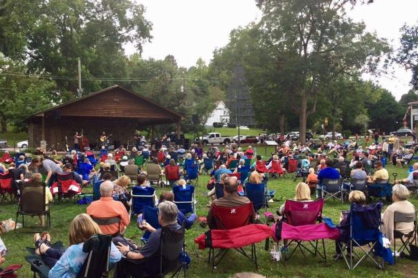 First Fridays Are Concerts in the Park Nights in Dahlonega