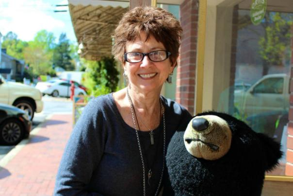 Humans of Dahlonega … Bear on the Square Founder, Glenda Pender