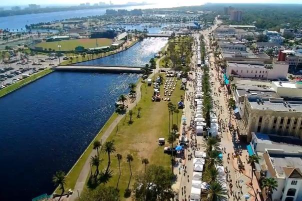 Halifax Art Festival Aerial
