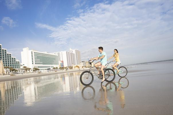 Escape end of summer blues with a fall beach escape to Daytona Beach!