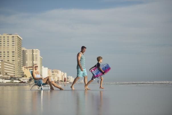 Beach Day Family