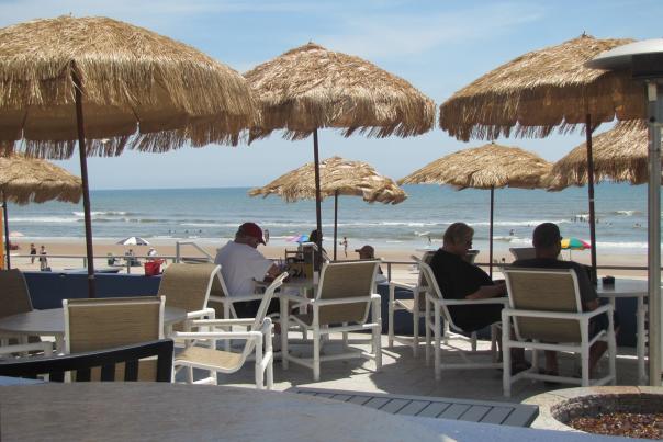 Tiki Bar on Daytona Beach