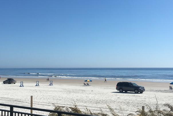 Beach Driving blog