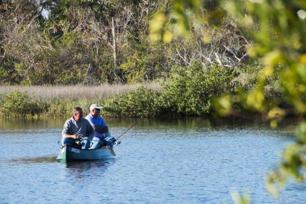 Fishing the inland waterways of Daytona Beach