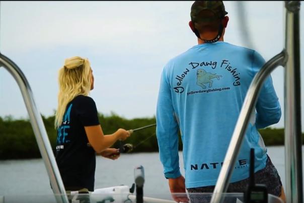 Fishing in the Daytona Beach area.