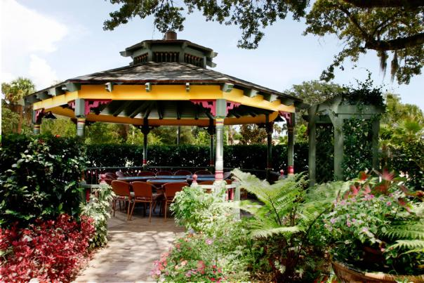 The Gazebo at Rose Villa Southern Table and Bar