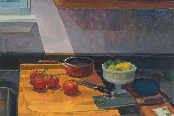 Solitary Light, by Sara Pedigo, oil on canvas