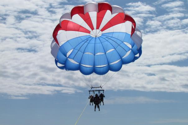 Ponce Inlet Watersports parasailing