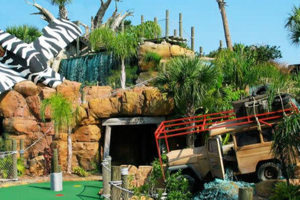 Putt Putt Golf at Congo River Adventure Golf in Daytona Beach Shores