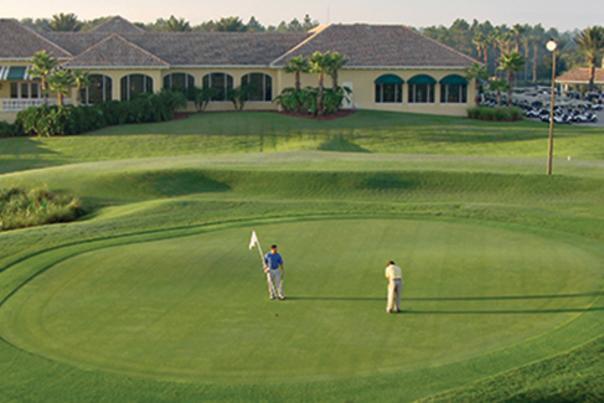 Aerial view of LPGA International Golf Course