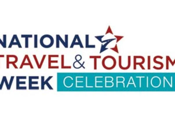 National Travel and Tourism Week Celebration logo