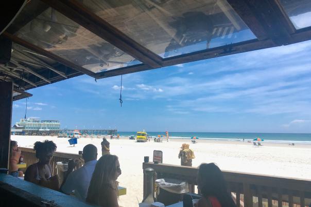 Ocean Deck beach view