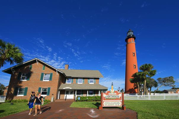 Ponce Inlet Lighthouse, perfect vacation sight to see