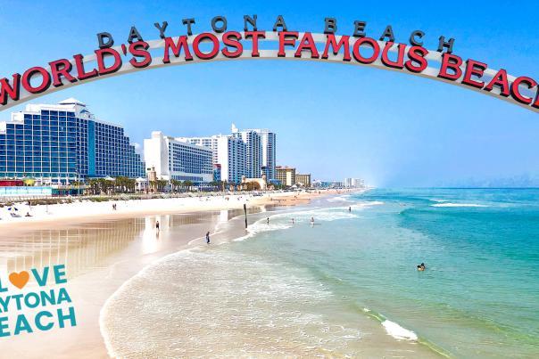 Daytona Beach Florida Worlds Most Famous Sign Zoom Virtual Background