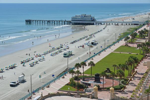 Daytona Beach Boardwalk and Pier