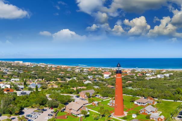 Ponce Inlet Floridea Lighthouse image SkyNav