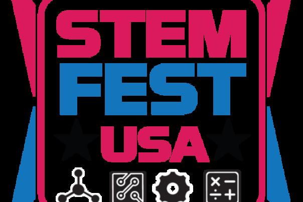 A STEMFest USA logo