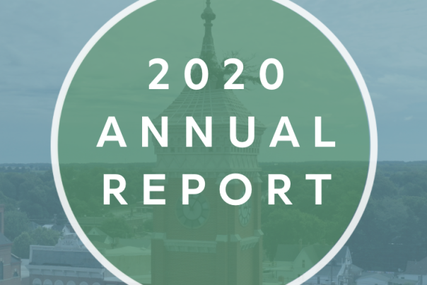 Visit Greensburg Annual Report Cover 2020