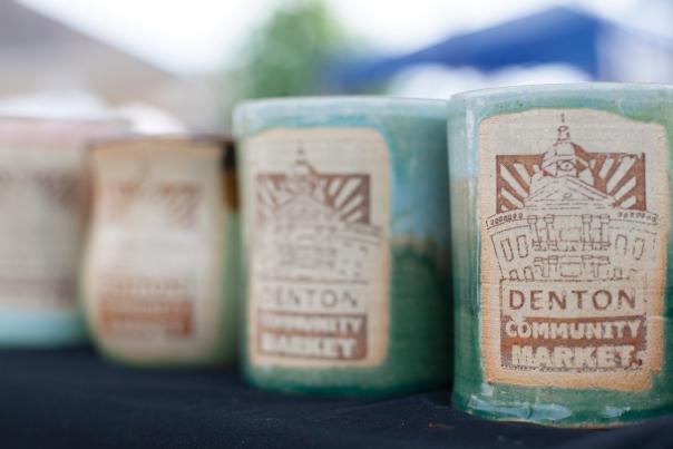 Ceramic Mugs For Sale At The Denton Community Market
