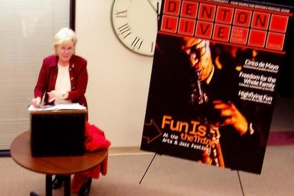Euline at Denton Live Unveiling
