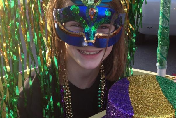 Kayla Willis at Mardi Grad Denton 2014 cropped