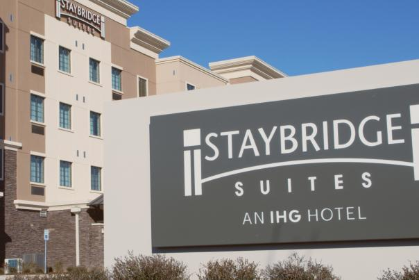 Staybridge sign from video