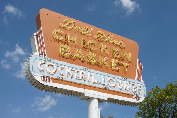 Chicken Basket Sign