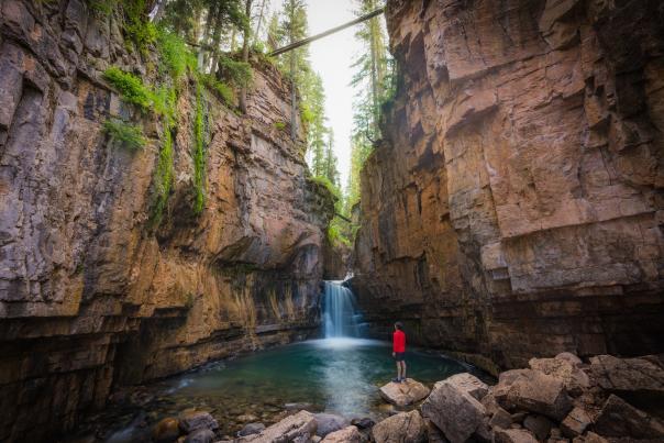 Cascade Canyon Creek Waterfall, Durango, CO