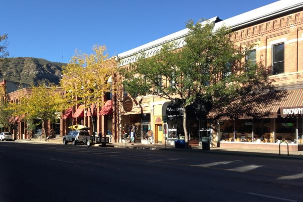 Shops in Downtown Durango