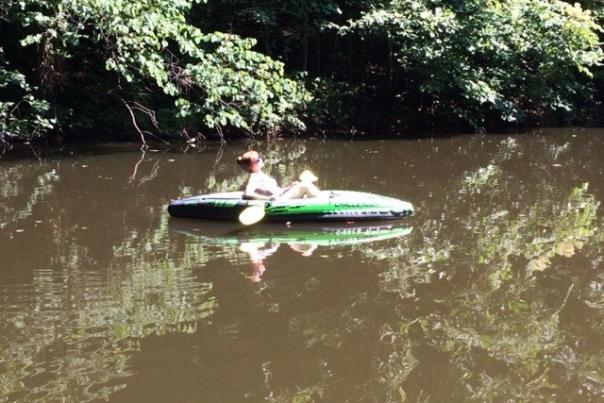 Kayaking in Red River Gorge